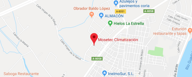 Contacta con Mosetec, Tu empresa de climatización en Sevilla