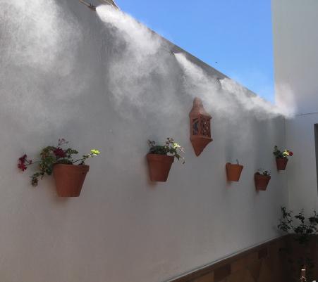 Equipos de nebulización, Microclima y humectación - Vista 2